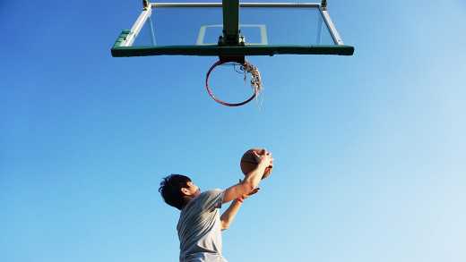 Improve your game on the basketball court by doing squats.
