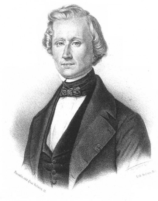 Urbain Le Verrier; the astronomer credited with helping to discover the planet Neptune.