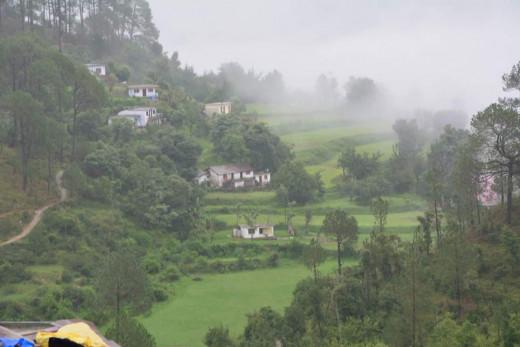 Breathtaking View From Naini Peak