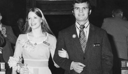 Georgeann Hawkins was named Princess at the Washington state Daffodil Festival.