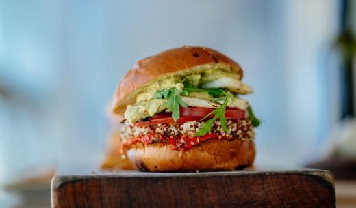Processed vegetables burger