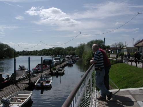 This is where our journey began at our moorings at Beeston on the River Trent.