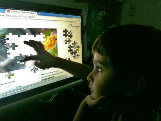 Using a touchscreen is intuitive,  even a child can use one.