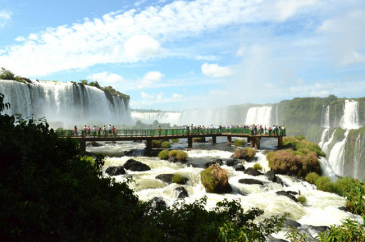 Foz do Iguaçu is home to one of the natural wonders of the world