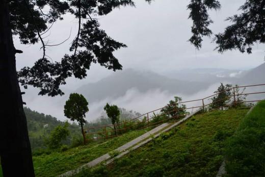 View From Hanuman Garhi Temple