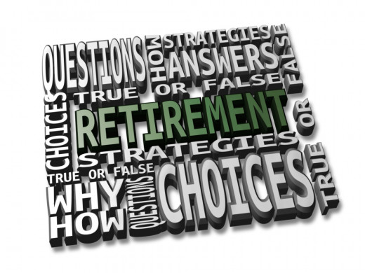 Effective retirement solutions feature a series of choices, questions, answers and strategic planning.