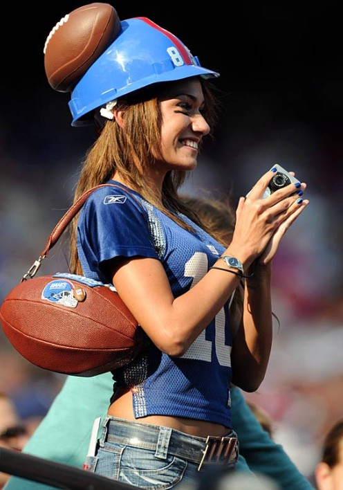 New York Giants Fan Reby Sky