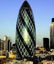 The Gherkin of London. Hive Mind Emulation.
