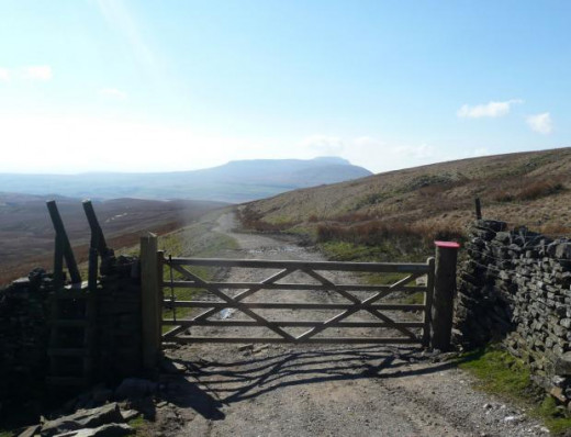 From the starting point at High Birkwith Farm, take the gate out onto a well cared-for track