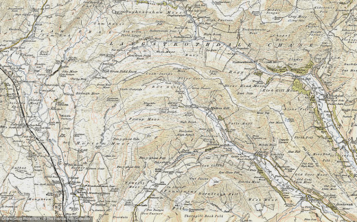 Three Peaks area map. Best to buy an accurate Ordnance Survey map...