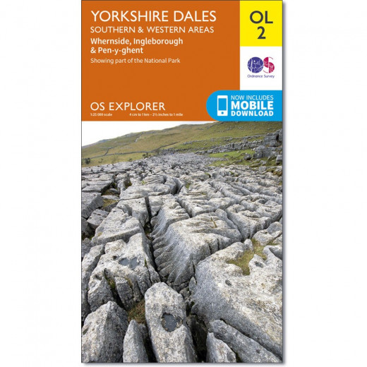 Yorkshire Dales, Southern & Western, OS Explorer Map OL2... Be safe and take a compass. The sun might shine brilliantly, the sky might be blue but all that can change within the hour.