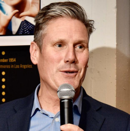 Favourite among the bookies to win the Labour leadership election:  Keir Starmer.