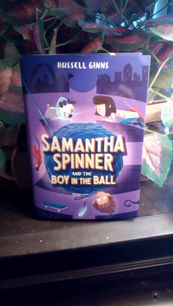 New Adventures, Puzzles, and Secrets With Samantha Spinner in This Third Book in Russell Ginns' Popular Series