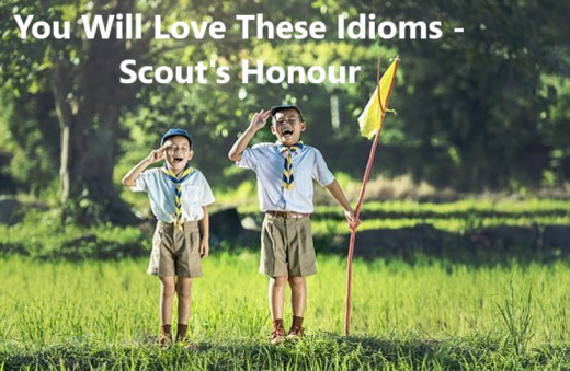 The Scouts word is his Bond.