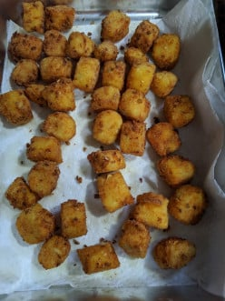 Potato Puffs - Infused with Cheddar Cheese