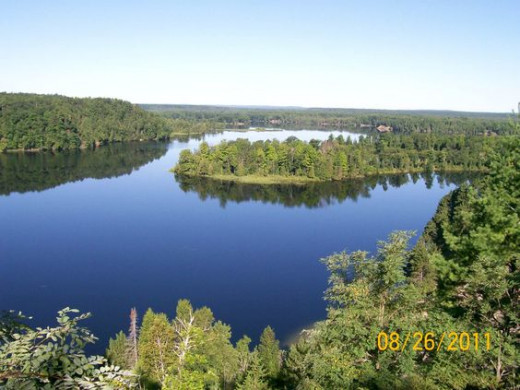Ausable river near Oscoda mi.