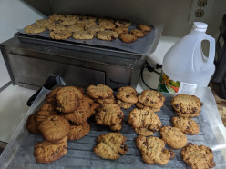 Almond Butter Cookies - Thai Chili Flavored