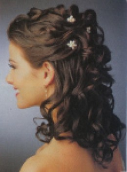 Incredible Partial Updo Hairstyles Curly Hair Flowers Wwe Superstar Sheamus Short Hairstyles Gunalazisus