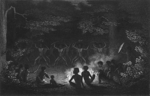 Corroboree dance