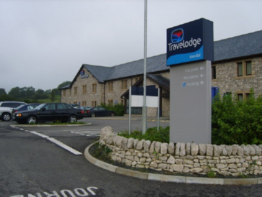 The Travelodge at Kendal in The Lake District is a typical example of this hotel chain.