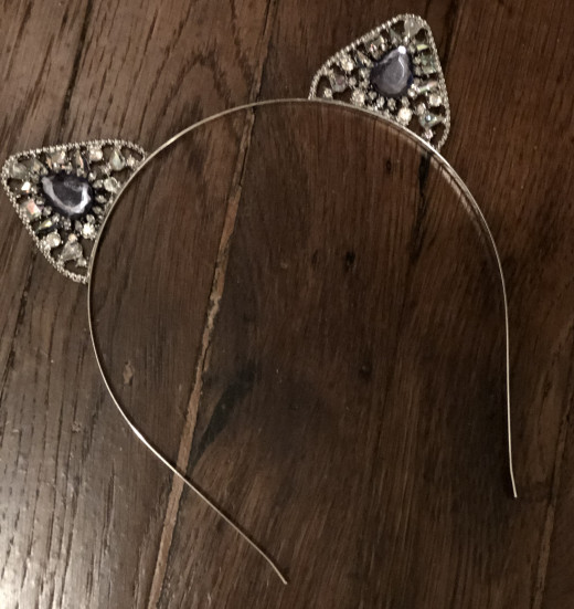 "Tiara headband from ""Ross Dress For Less"""