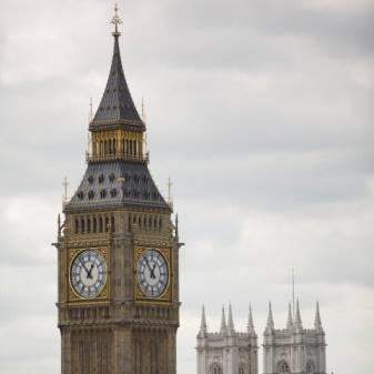 Big Ben:  Supposed to bong on Brexit day.