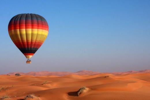 Baloon ride