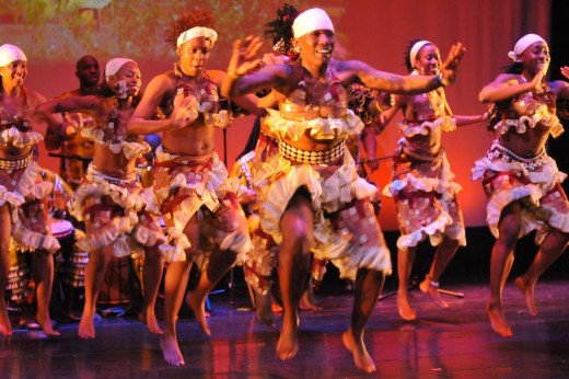 Dance Africa featured in photo.  Four-day festival of African dance, music, visual art, shopping and wellness
