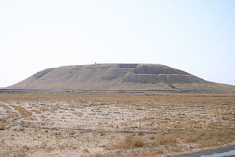 A tell is an artificial hill created by many generations of people living and rebuilding on the same spot. Tells are proof of the continual self-destruction and rebuilding of civilizations.