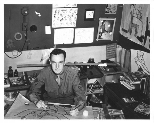 Stan Lee in Army