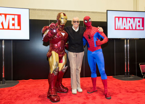 Stan Lee at Comic Convention
