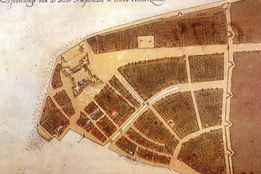 New York Map 1660