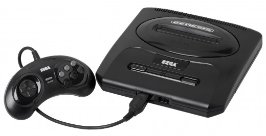 Sega Genesis, Sometimes referred to as Sega Mega Drive, 1989.