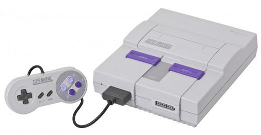Super Nintendo Entertainment System, 1991.