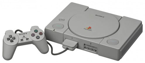 Sony's Play Station 1, 1995.
