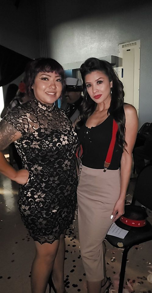 With co-label mate, singer Brittany Nicole