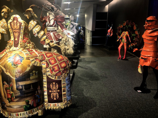 Amazing costume designs inside the WOW Museum