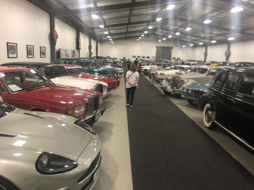 Classic cars at WOW