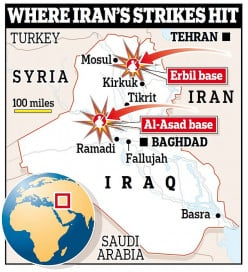 American Soldiers and the Iranian Missile Attack