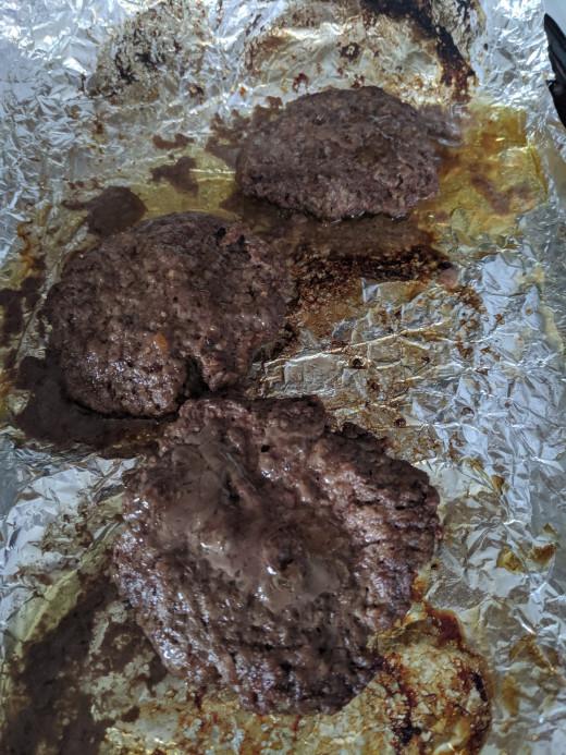 broil a hamburger