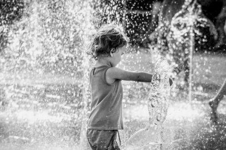 Water regulates body temperature