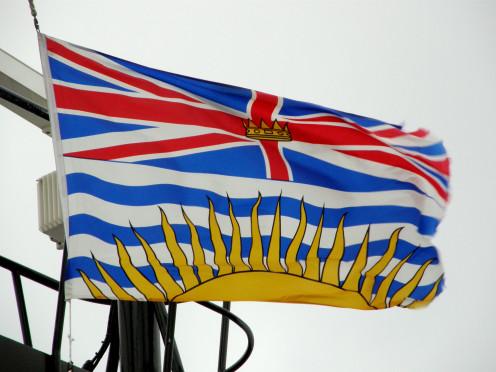 Provincial flag of British Columbia