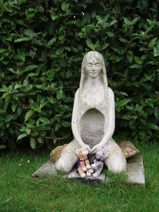 Wiccans believe in balance and worship a god and goddess.