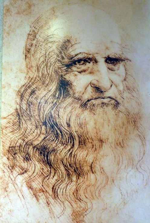 Leonardo Di Vinci, self portrait