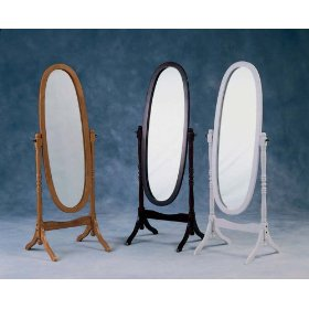 The cheval style full-length mirrors are always popular