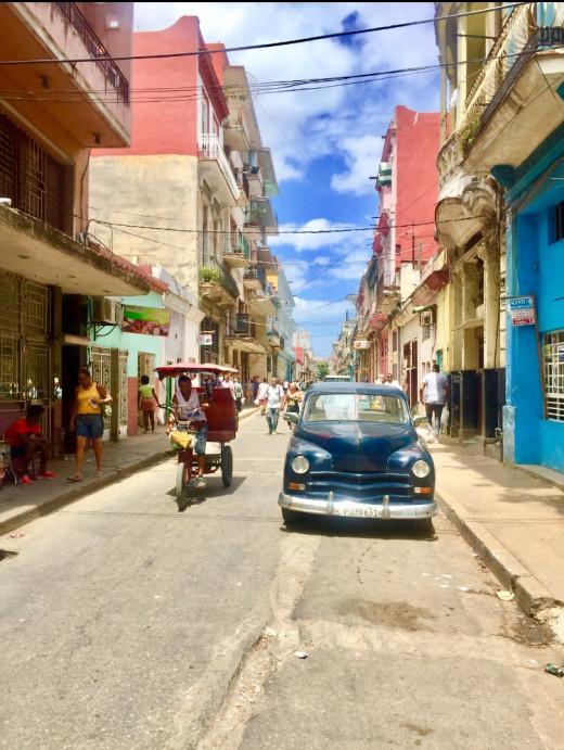 Streetview, Centro Havana.