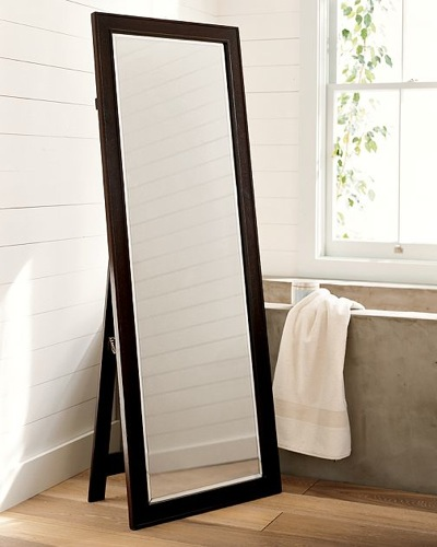 An elegant example of a classic floor mirror
