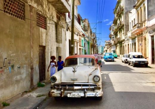Street view, Centro Havana.