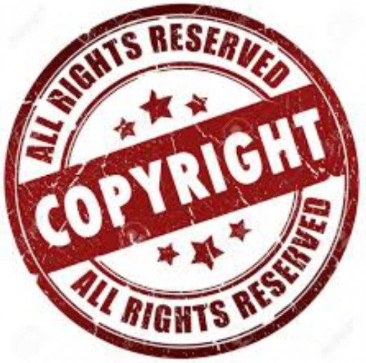 All works are copyrighted with or without a copyright symbol