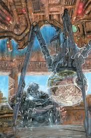 Bib Fortuna as a Spider droid